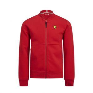 Scuderia Ferrari Giacca felpa rossa