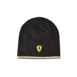 Scuderia Ferrari Gorro de punto negro