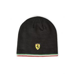 Scuderia Ferrari knitted beanie black