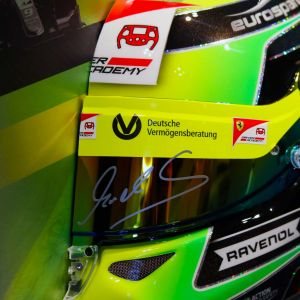 Demi-casque mural Mick Schumacher 2019