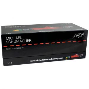 Michael Schumacher Benetton Ford B192 Vainqueur du GP de Belgique 1992 1:18