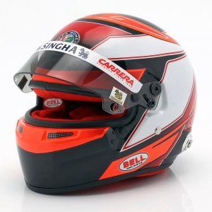 Kimi Räikkönen casque miniature Alfa Romeo Racing C38 Formula 1 2019 1:2