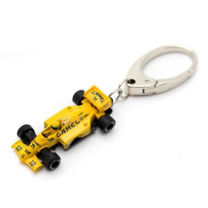Keyring Miniature Lotus 99T Scale 1:64