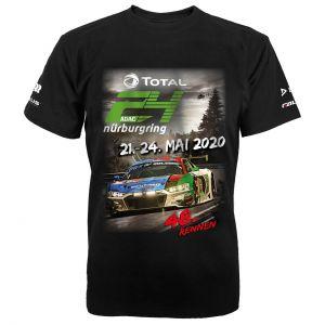 24h-Rennen T-Shirt 2020 schwarz