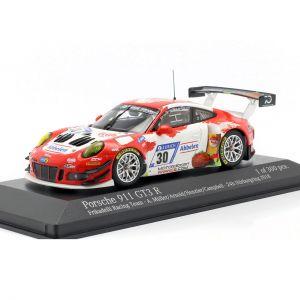 Porsche 911 (991) GT3 R #30 24h Nürburgring 2018 Frikadelli Racing 1:43