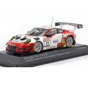 Porsche 911 GT3 R #31 Vincitrice VLN 3 Nürburgring 2018 Frikadelli 1:43