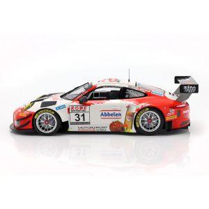 Porsche 911 GT3 R #31 Vincitrice VLN 3 Nürburgring 2018 Frikadelli 1:18