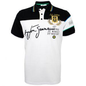 Ayrton Senna Poloshirt 1st Victory Monaco