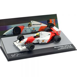 Ayrton Senna McLaren MP4/8 #8 Gewinner Australien GP Formel 1 1993 1:43