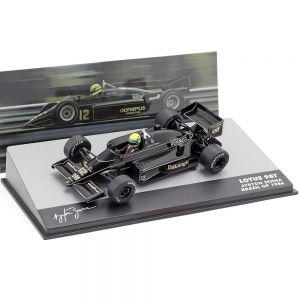 Ayrton Senna Lotus 98T #12 Brasilien Formel 1 GP 1986 1:43