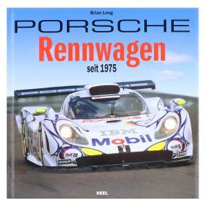 """Libro """"Macchine da corsa Porsche dal 1975"""" / di Brian Long"""