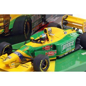 Michael Schumacher Benetton B193B #5 Monaco GP Formel 1 1993 1:43