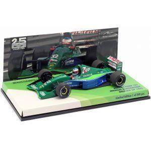 Michael Schumacher Jordan J191 #32 Free Practice Belgium GP F1 1991 1:43