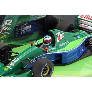 Michael Schumacher Jordan J191 #32 Freies Training Belgien GP F1 1991 1:43