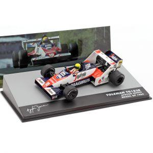 Toleman TG183B #19 Brasile Formula 1 GP 1984 1/43