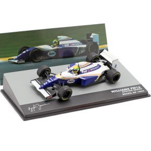 Ayrton Senna Williams FW16 #2 Formel 1 GP Brasilien 1994 1:43