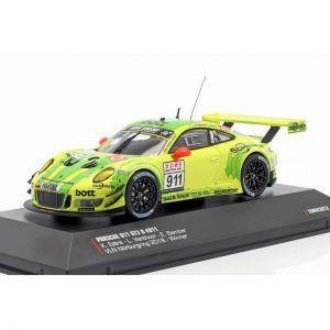 Porsche 911 (991) GT3 R #911 Vincitrice VLN 1 Nürburgring 2018 1/43