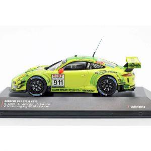 Porsche 911 (991) GT3 R #911 Ganador VLN 1 Nürburgring 2018 1/43