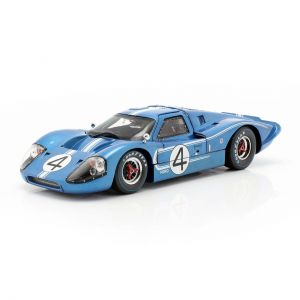 Hulme, Ruby Ford GT40 MK IV #4 24h LeMans 1967 1/18 ShelbyCollectibles