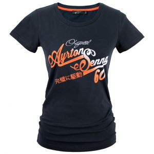 Ayrton Senna T-Shirt Ladies Original 1960 blue