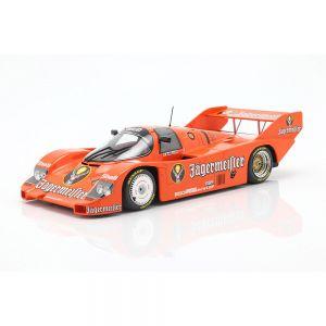Porsche 956K Brun #1 3 200 millas Norisring 1984 Stefan Bellof escala 1/18