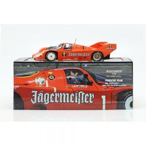 Porsche 956K Brun #1 3ème 200 miles Norisring 1984 Stefan Bellof 1/18 échelle