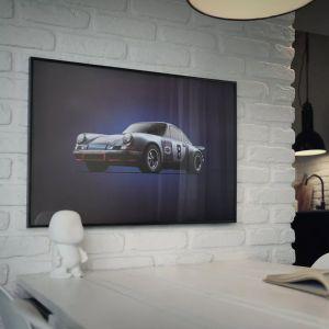 Poster Porsche 911 RSR - Martini - Targa Florio - 1973 - Colors of Speed