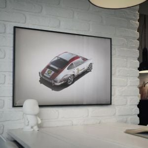 Poster Porsche 911R - BP Racing Monza 1967 - Colors of Speed
