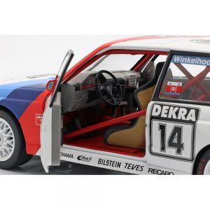 BMW M3 (E30) #14 winner Norisring DTM 1992 Joachim Winkelhock 1/18 Solido
