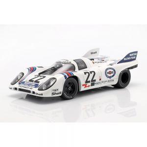 Marko, van Lennep Porsche 917K #22 vincitore 24h LeMans 1971 1/18