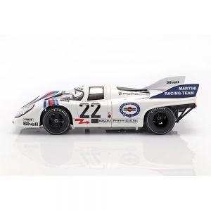 Marko, van Lennep Porsche 917K #22 Vainqueur des 24h de LeMans 1971 1/18