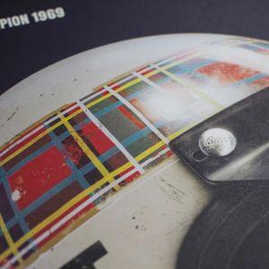 Poster Sir Jackie Stewart - Helm - 1969
