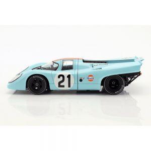 Rodriguez, Kinnunen Porsche 917K #21 24h LeMans 1970 1:18