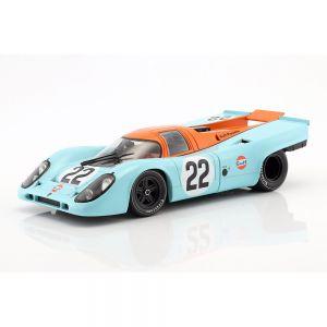Hobbs, Hailwood Porsche 917K #22 24h LeMans 1970 1/18