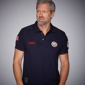 Gulf Michael Delaney Poloshirt navy blue