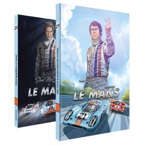 Comic: Und Steve McQueen in LeMans von Sandro Garbo (deutsch)