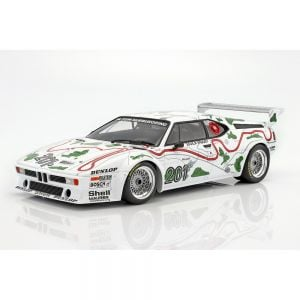 BMW M1 Gr.4 #201 3ème place 1000km Nürburgring 1980 Stuck / Piquet 1/12 Minichamps