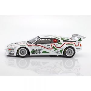BMW M1 Gr.4 #201 3rd place 1000km Nürburgring 1980 Stuck / Piquet 1/12 Minichamps