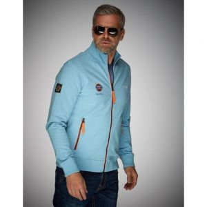 Gulf Sweatjacket Smart Racing bleu Gulf