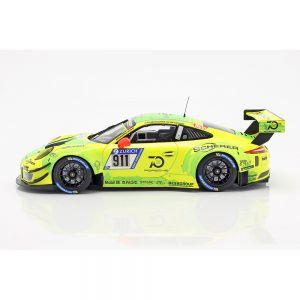 Porsche 911 (991) GT3 R #911 24h Nürburgring 2018 Manthey Grello 1:18