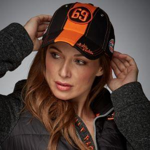 Gulf Cappello Black & Orange 69