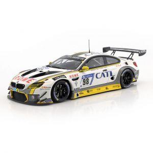BMW M6 GT3 #98 2 lugar 24h Nürburgring 2017 Rowe Racing 1/18 Minichamps
