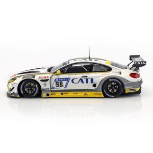 BMW M6 GT3 #98 2nd place 24h Nürburgring 2017 Rowe Racing 1/18 Minichamps