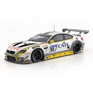 BMW M6 GT3 #99 10 lugar 24h Nürburgring 2017 ROWE Racing 1/18 Minichamps