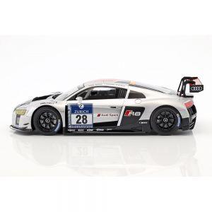 Audi R8 LMS Ultra #28 ganador 24h Nürburgring 2015 Audi Sport Team WRT 1/18