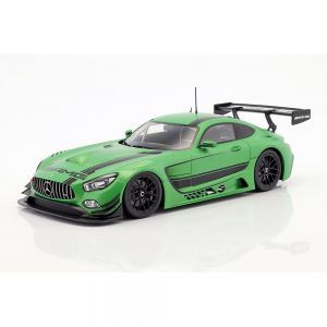 Mercedes-Benz AMG GT3 2015 verde metálico 1/18