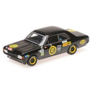 Opel Record 1900 Black Widow Niki Lauda - Tulln-Langenlebarn - 1969 1/43