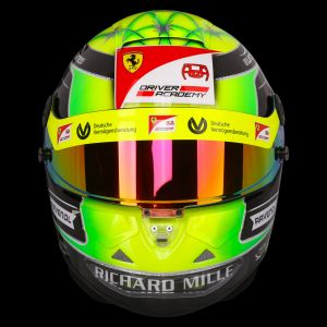 Mick Schumacher replica casco 1:1 2019
