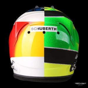Mick Schumacher replica casco 1:1 2017