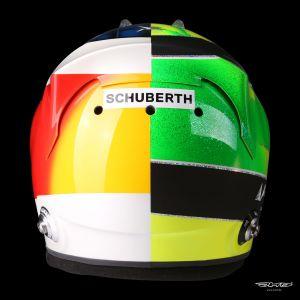 Mick Schumacher réplique du casque 1:1 2017